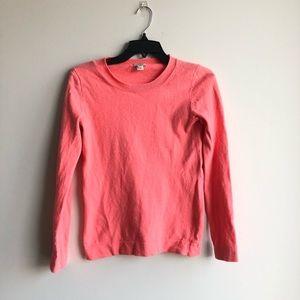 J. Crew Peach Pinkish Orange Salmon Sweater XXS